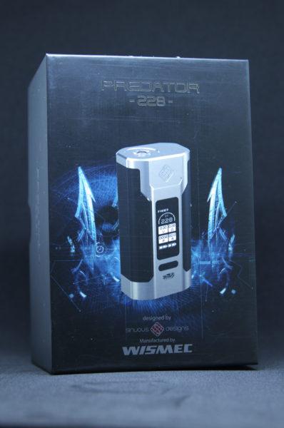WISMEC Predator 228 外箱画像