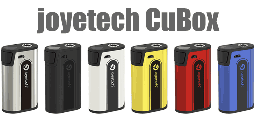 ポストTesla Two?Joyetech CuBox【気になる】