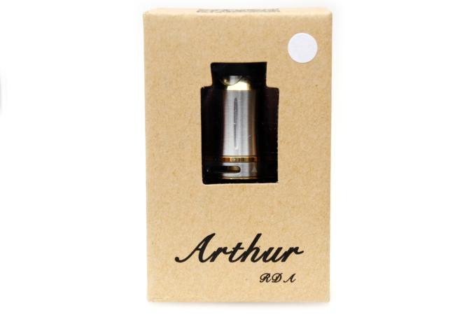 cool vape arthur rda外箱