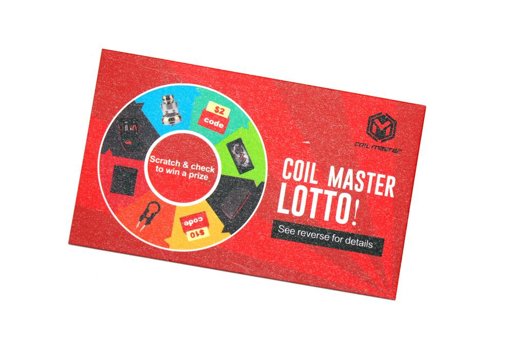 Coil Master(コイルマスター) Ceramic Stickカード