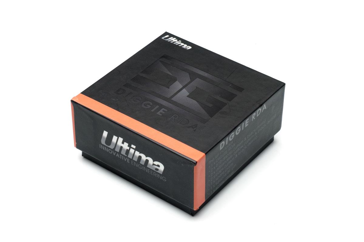 Ultima Vape DIGGIE RDA パッケージ