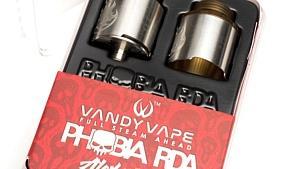 PHOBIA RDA by vandyvape Alexさんの爆煙タイプ